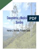 Dasometría y Medición de Sombra