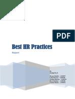HR Practices Report