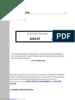 toshiba lcd tv service manual