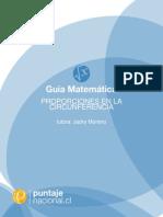 Proporciones en La Circunferencia