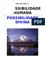 Impossibillidade humana possibilidade divina