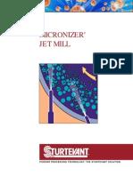 Sturtevant Micronizer Brochure