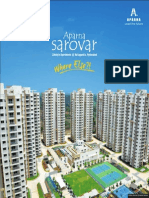 Sarovar Flyer brochure