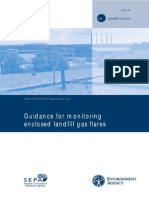 Guidance for Monitoring Enclosed Flares