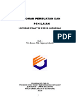 Pedoman Laporan PKL