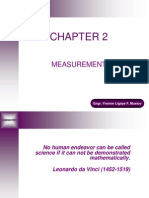 CHEM1 Chapter 2 - Measurement