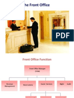 The Front Office Department