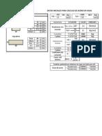 Cálculo de Acero en Vigas