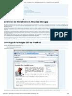 Cómo Convertir Un Equipo en Un NAS Gratuitamente Con FreeNAS Proyecto AjpdSoft
