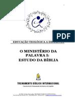 O Ministerio Da Palavra 1