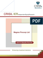 CRISIL Research Ier Report Magma Fincorp 2013 Q1FY14fc