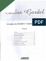Carlos Gardel - Arreglos de Ruben Chocho Ruiz