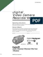 Videocamara Manual