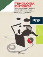 Escolar, Cora y Besse, Juan - Epistemologia Fronteriza