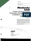 Waukesha Vhp Dsm Manual de o&m