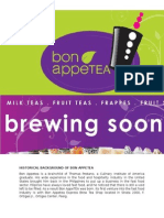 Bon Appetea (Marketing Mix)