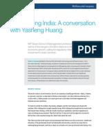 Reimagining India a Conversation With Yasheng Huang
