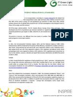 Fuel Efficiency Regulations & Standards