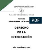 Derecho de La Integracion