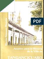 Apuntes para la historia de la Villa de Tangancicuaro Martin Samano