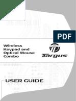 Targus 10-Key & Mouse Guide