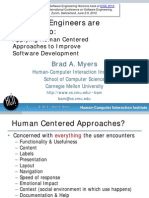 Software Engineers Are People Too