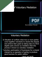 Theory of Voluntary Mediation