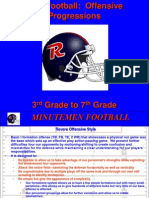 RHS Youth Football Offensive Progressions