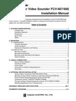 FCV667-FCV668 Installation Manual