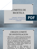 Comites de Bioetica