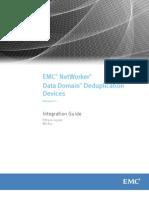 NetWorker v8 Data Domain Deduplication Devices Integration Guide