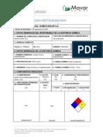 1.MSDS Sulfato Ferroso Heptahidratado