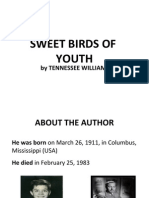 summary of Sweet Birds of Youth  -----  by feli