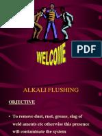 Alkali Flushing