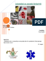 181849527 Ingrijirea Pacientului Cu Anemie Feripriva 2012