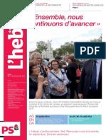 L'Hebdo des Socialistes n°741