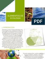 Elementos de Ecología