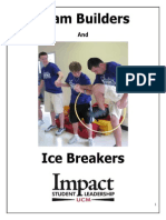 Ice Breakers and Team Builders Packet