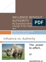 Influence Without Authority Presentation