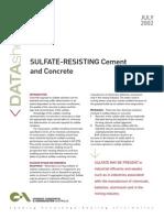 Sulfate Data