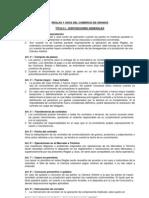 Reglas y usos COMERCIO DE GRANOS (orig.)