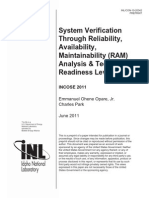 System Verification Through RAM - 5094551