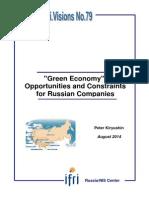 """""""Green Economy"""""""