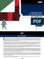 Novedades ECC Septiembre 2014