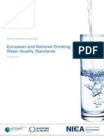 European and National Drinking Water Quality Standards-NIEA