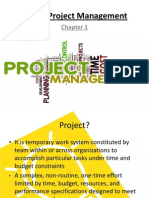 1. Modern Project Management