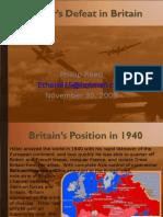 Hitler's Defeat in Britain