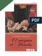 El Enigma de Flandes - Gilbert Sinoue