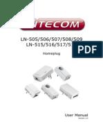 Sitecom Homeplug manual