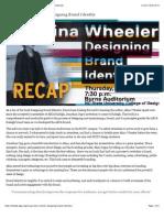 AIGA Raleigh | Recap | Alina Wheeler